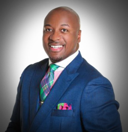 Alex Eillis -Keynote speaker at the 2014 100 Black Men of Central Illinois Gala